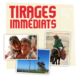 tirages photos immédiats